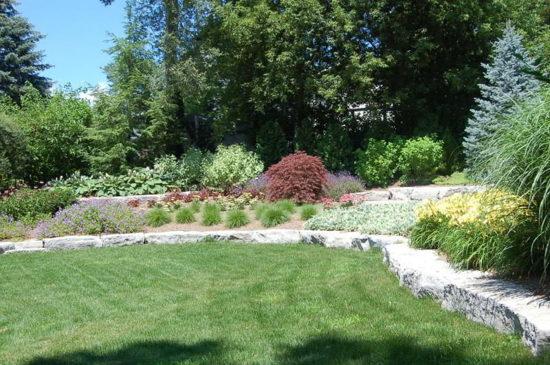 Natural Stone Walls Amp Steps Nature S Own Landscape
